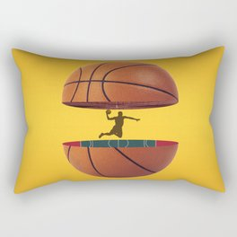 Basket Ball design Rectangular Pillow