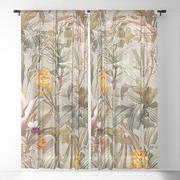 Magical Garden XI Sheer Curtain