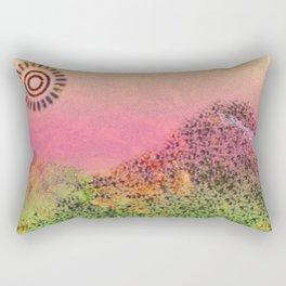 Mountain Series - Day-break Rectangular Pillow