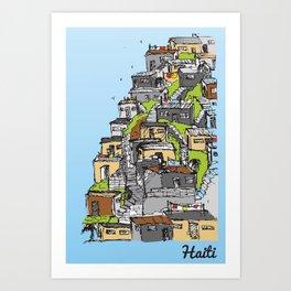 Haiti Art Print
