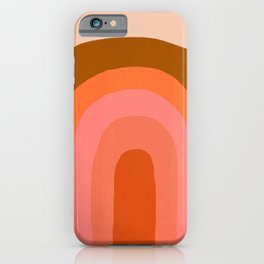 Abstraction_Rainbow_001 iPhone Case