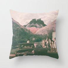 Photobomb! Throw Pillow