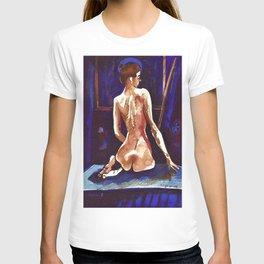 Karin the Gracious Contemplating the Night T-shirt