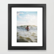 Rolling Lake Framed Art Print