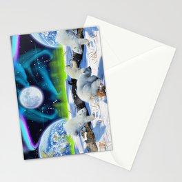 Joyful - Polar Bear Cubs and Planet Earth Stationery Cards