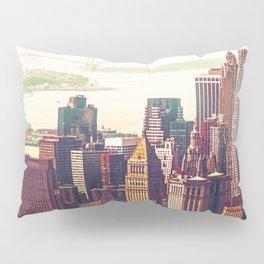 New York City Skyline Colors Pillow Sham