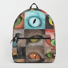 Changing eyes Backpack