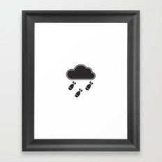 cloudbomb Framed Art Print