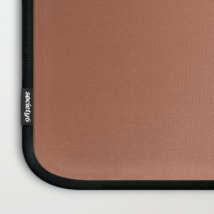 Sherwin Williams Color of the Year 2019 Cavern Clay SW 7701 Solid Color Laptop Sleeve