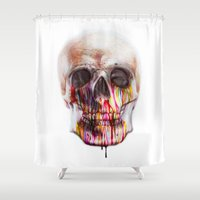 blood Shower Curtains featuring True Blood B by beart24