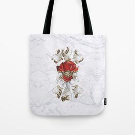 Roman Marble Tote Bag
