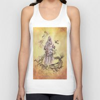 religious Tank Tops featuring Jesus Christ and Religious Symbols by Sonya ann
