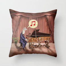 LA-LA-LA-Llama! Throw Pillow