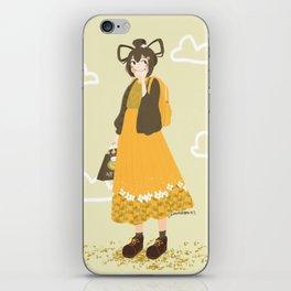 Daydreaming Tsuyu iPhone Skin