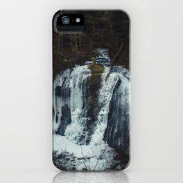 Upper McCord Creek Falls iPhone Case