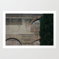 Roman Arches Art Print