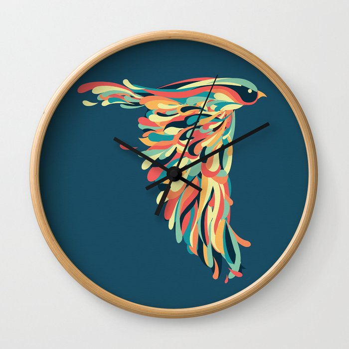 Downstroke Wall Clock