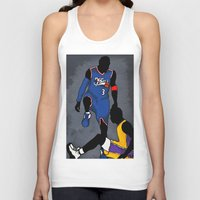 lakers Tank Tops featuring The Step Over by nissa