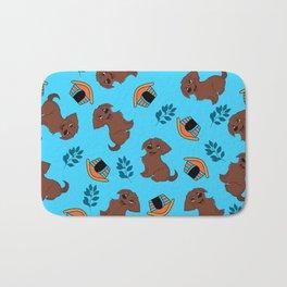 Cute Puppy Pattern Bath Mat