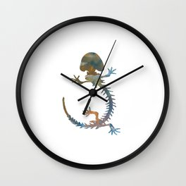 Hellbender Skeleton Wall Clock