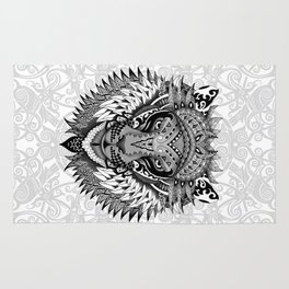 lion aztec art pattern iPhone 4 4s 5 5c 6 7, pillow case, mugs and tshirt Rug