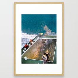 Let's go Swimming! Framed Art Print