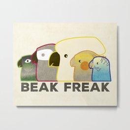 Beak Freak Metal Print