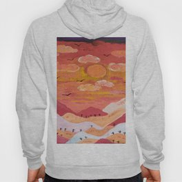 Mountains at day Hoody