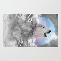 Maybe the Wolf Is In Love with the Moon / Unrequited Love Rug