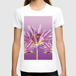 Lotos Flowers violet II T-shirt