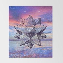 Sacred Geometry Universe 8 Throw Blanket