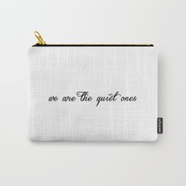Quiet Ones Carry-All Pouch