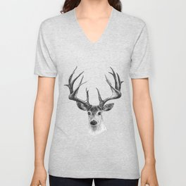 Red deer Unisex V-Neck