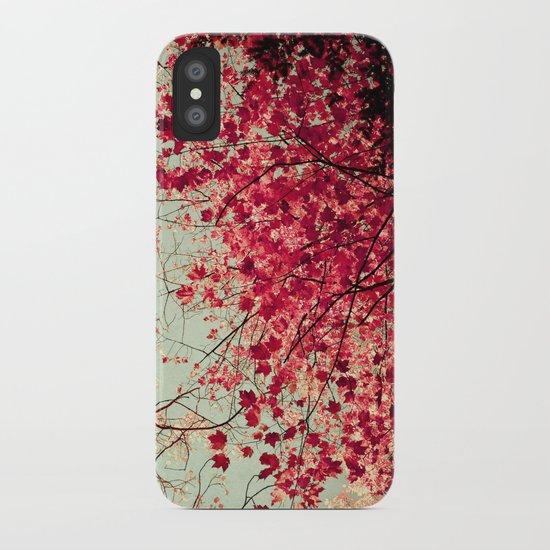 Autumn Inkblot iPhone Case