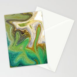 Golden Tapestry Stationery Cards