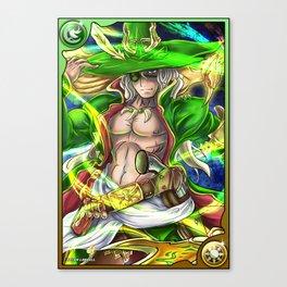 Shining Lance Wielder Odin Canvas Print