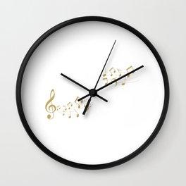 Singer Microphone Musical Notes Karaoke lover Wall Clock
