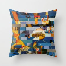 Shiver Me Ikea Timbers (Provenance Series) Throw Pillow