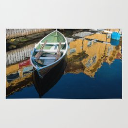 Scandinavian Row Boat Rug