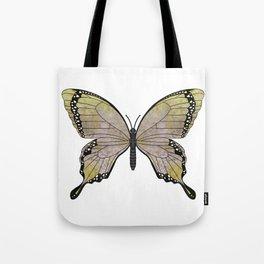 aubergine limelight swallowtail (Papilio linta) Tote Bag