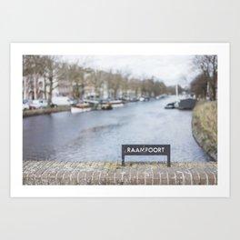 Raampoort Art Print