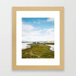 Misery Farm Framed Art Print