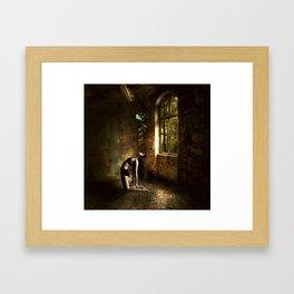 ethereal girl Framed Art Print