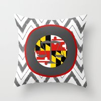 law Throw Pillows featuring MD LAW by Jordan Virden