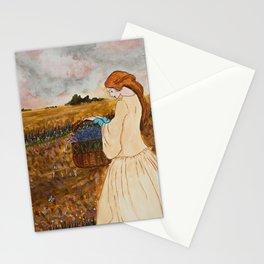 Prinsessa i overgivet vetefalt Stationery Cards