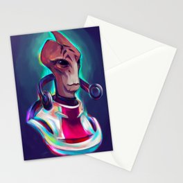 Neon Mordin... Had to be him Stationery Cards