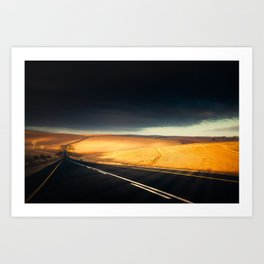 A Storm To Brighten The Day Art Print