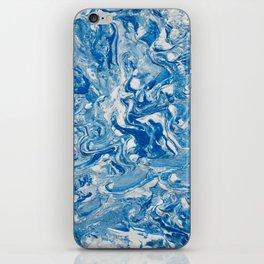 BLUE RIPPLE iPhone Skin