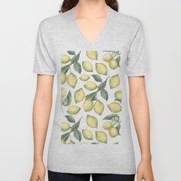 Lemon Fresh Unisex V-Neck