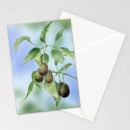 Avocado Tree Branch  Stationery Cards